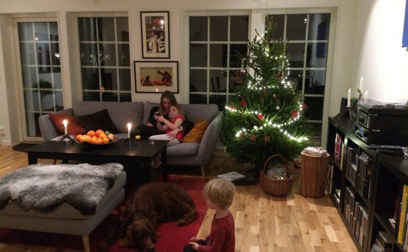 Vår första jul i huset
